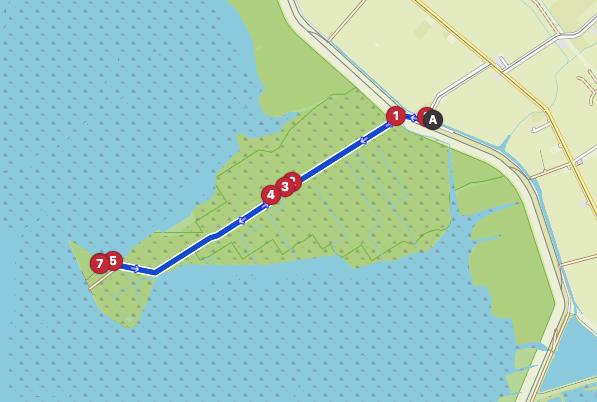 Wattenmeer map